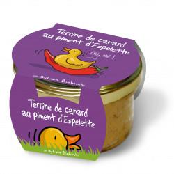 Terrine de canard au piment...