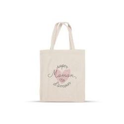 "Tote Bag ""Super Maman d'amour"""