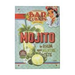 Pancarte métal Mojito