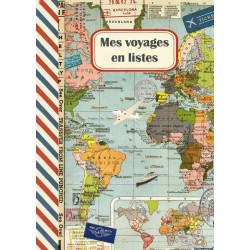Cahier Voyages en listes