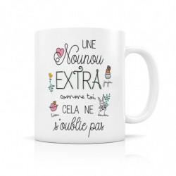 """Mug """"Une Nounou extra…"""""""