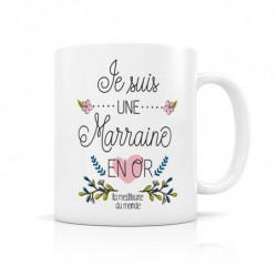 """Mug """" Je suis une Marraine..."""