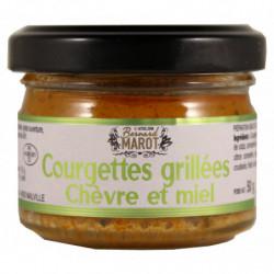 Courgettes grillées Chèvre...