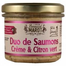 Duo de Saumons Crème &...