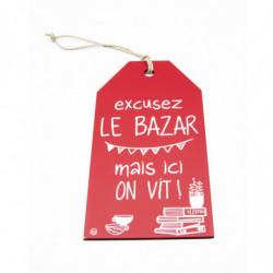 """Message étiquette """"Excusez..."""