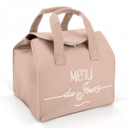 Sac Lunch Bag Isotherme Rose
