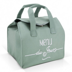 Sac Lunch Bag Isotherme Vert