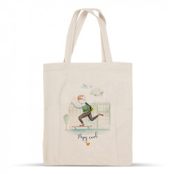 Tote bag Papy Cool